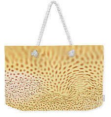 Dots And Lines Weekender Tote Bag