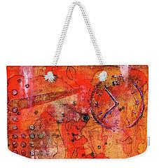 Dot Of Time Weekender Tote Bag
