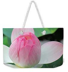 Dotus On The Lotus  Weekender Tote Bag