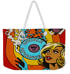 Double Advance - Pinball Weekender Tote Bag