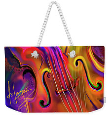 Double Bass Solo Weekender Tote Bag