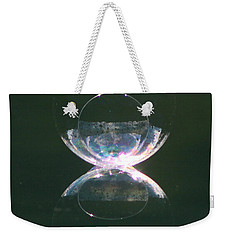 Double Bubble Infinity Weekender Tote Bag by Cathie Douglas