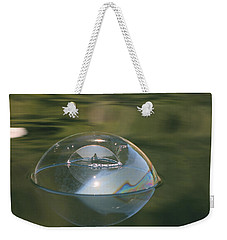 Double Bubble Portrait Weekender Tote Bag
