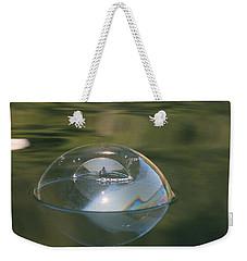 Double Bubble Portrait Weekender Tote Bag