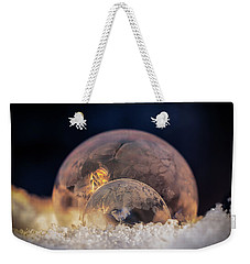 Double Bubbles Weekender Tote Bag