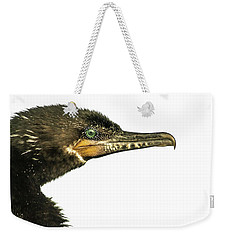 Weekender Tote Bag featuring the photograph Double-crested Cormorant  by Robert Frederick