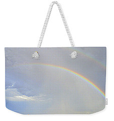 Double Desert Rainbow Weekender Tote Bag