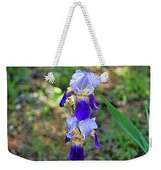Double Iris Weekender Tote Bag