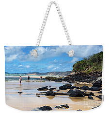Double Island Point  Weekender Tote Bag