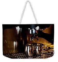 Double Shot Of Espresso 2 Weekender Tote Bag