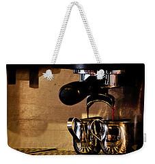 Double Shot Of Espresso Weekender Tote Bag