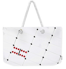 Weekender Tote Bag featuring the photograph Double Sixes by Tom Mc Nemar