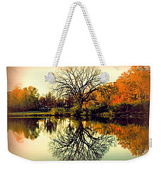 Double Take Weekender Tote Bag by Nancy Kane Chapman