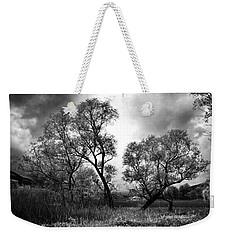 Double Tree Weekender Tote Bag