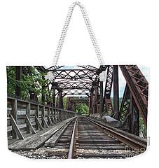 Double Truss Bridge #1679 On The Wmsr Weekender Tote Bag