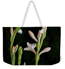 Double Tuberose In Bloom #2 Weekender Tote Bag