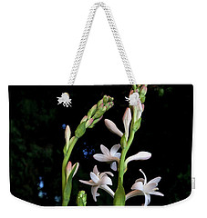 Double Tuberose In Bloom Weekender Tote Bag