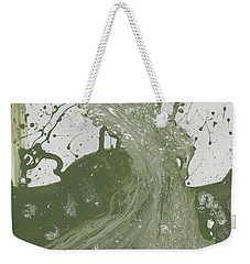 Double Up Wave Weekender Tote Bag by Talisa Hartley