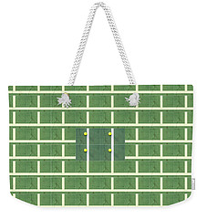 Doubles Tennis Weekender Tote Bag