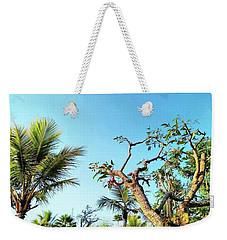 Tree And Blue Sky Weekender Tote Bag