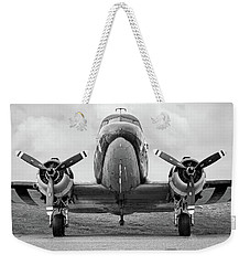 Weekender Tote Bag featuring the photograph Douglass C-47 Skytrain - Dakota - Gooney Bird by Gary Heller