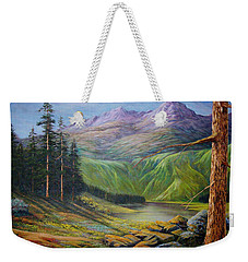 Doug's  Weekender Tote Bag by Loxi Sibley