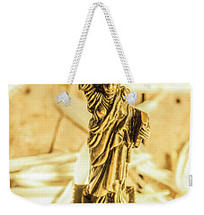 Dove Feathers And American Landmarks Weekender Tote Bag by Jorgo Photography - Wall Art Gallery