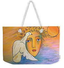 Dove-whisperer Weekender Tote Bag