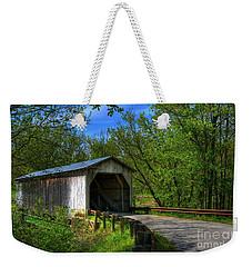 Dover Covered Bridge Weekender Tote Bag
