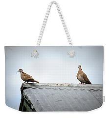 Doves Weekender Tote Bag by Beth Vincent