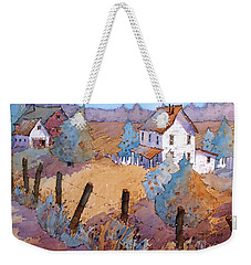 Down A Country Road Weekender Tote Bag