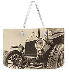 Weekender Tote Bag featuring the photograph Down A Dusty Road by Caitlyn  Grasso