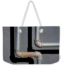 Weekender Tote Bag featuring the photograph Down And Out by Paul Wear