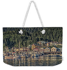 Down At The Basin Weekender Tote Bag