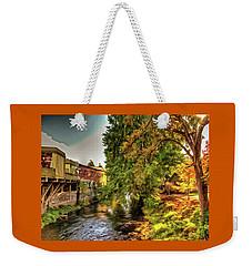 Down By The Creek Weekender Tote Bag