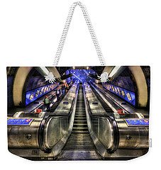 Down From A Cloud. Up From The Underground. Weekender Tote Bag by Evelina Kremsdorf