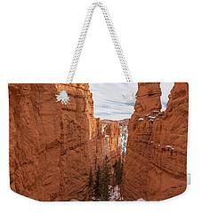Down Navajo Rim Trail Weekender Tote Bag