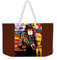 Down On His Luck Weekender Tote Bag