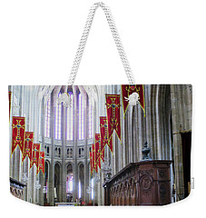 Down The Aisle - Orleans Cathedral Weekender Tote Bag
