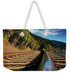 Down The Chukanut Line Weekender Tote Bag