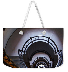 Down The  Lighthouse Stairs Weekender Tote Bag