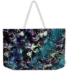 Down The Rabbit Hole Weekender Tote Bag by Kathie Chicoine