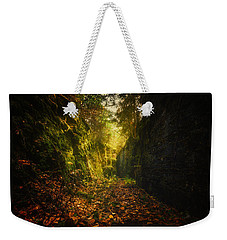 Down The Rabbit Hole Weekender Tote Bag
