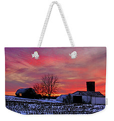 Down The Street From Daranya's House Weekender Tote Bag