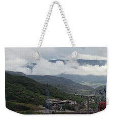 Weekender Tote Bag featuring the photograph Down The Valley At Snowmass #3 by Jerry Battle