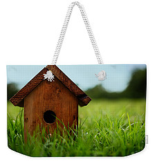 Weekender Tote Bag featuring the photograph Down To Earth by Laura Fasulo
