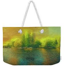 Downriver Glow Weekender Tote Bag