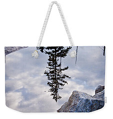 Downside Up Weekender Tote Bag