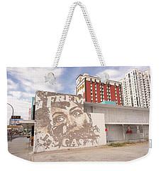 Downtown After Weekender Tote Bag