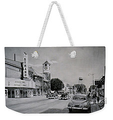 Downtown Alma, Michigan, Circa 1949 Weekender Tote Bag
